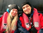 Hurtigruten couple